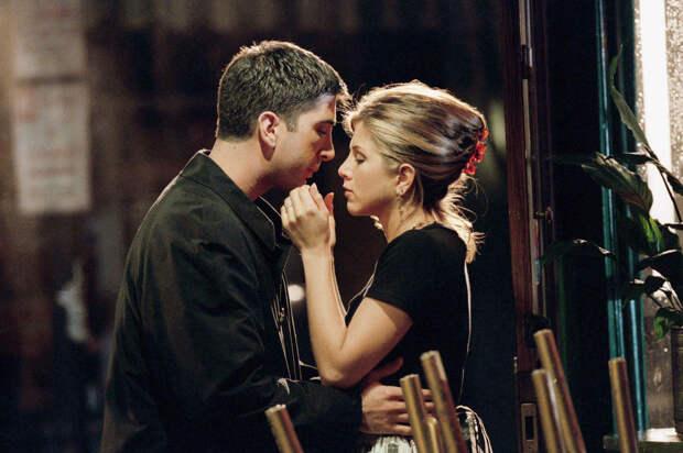 Дэвид Швиммер и Дженнифер Энистон признались, что были влюблены друг в друга