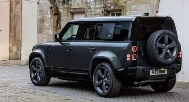 У Land Rover Defender V8 появится хардкорная заводская спецверсия