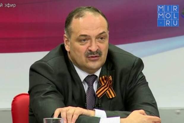 Сергей Меликов поздравил дагестанцев с Днем Победы!
