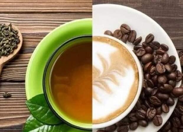 Батл: чай против кофе