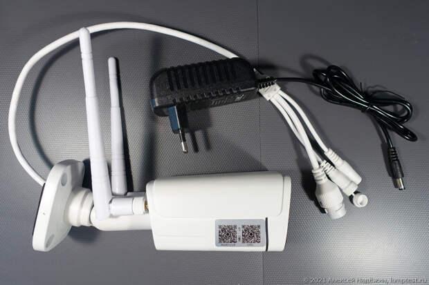 4G-камера с детекцией человека