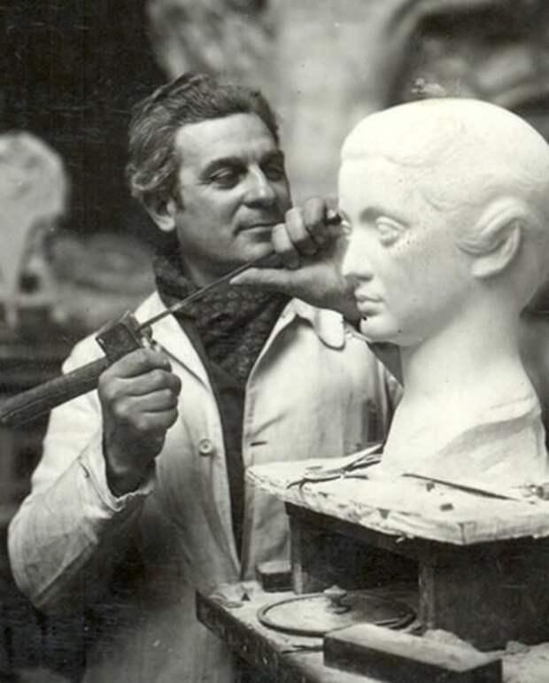 Скульптор и отец знаменитого актёра. Поль Бельмондо