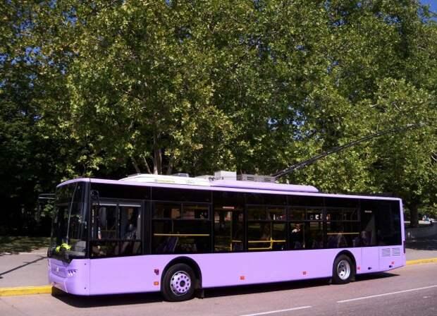 В Севастополе определят лучшего водителя троллейбуса