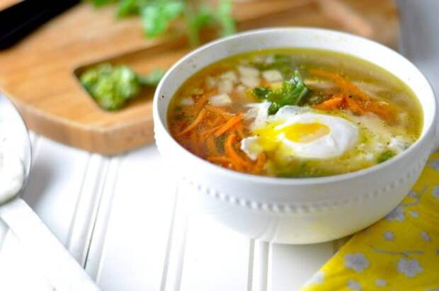 Яичный суп