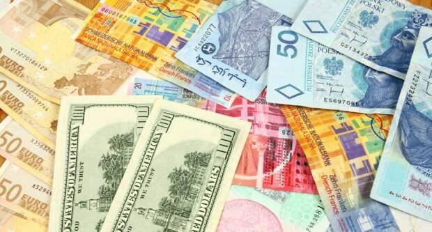 Официальные рыночные курсы инвалют на 14 апреля установил Нацбанк Казахстана