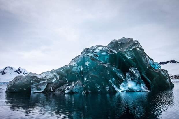 5 магических фото редкого явления – перевернутого айсберга