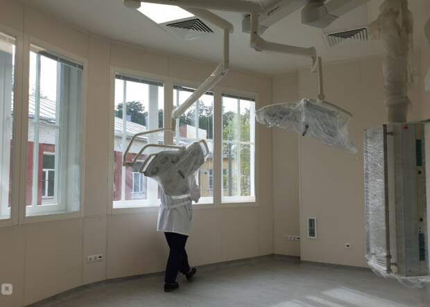 В корпусе №11 Боткинской больницы заканчивается ремонт