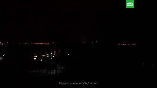 Жители Воронежа пожаловались на «ночную бомбежку»