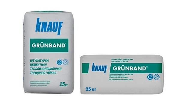 Технические характеристики теплоизоляционной штукатурки Knauf Grunband