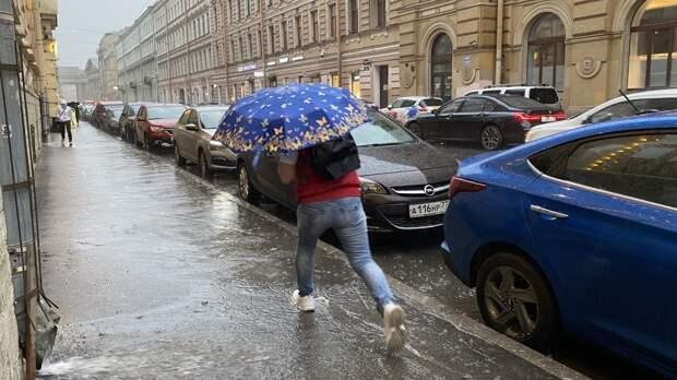 Петербуржцев предупредили о похолодании и дождях