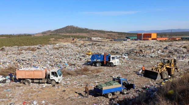 24 апреля можно будет бесплатно сдать мусор на полигон под Улан-Удэ