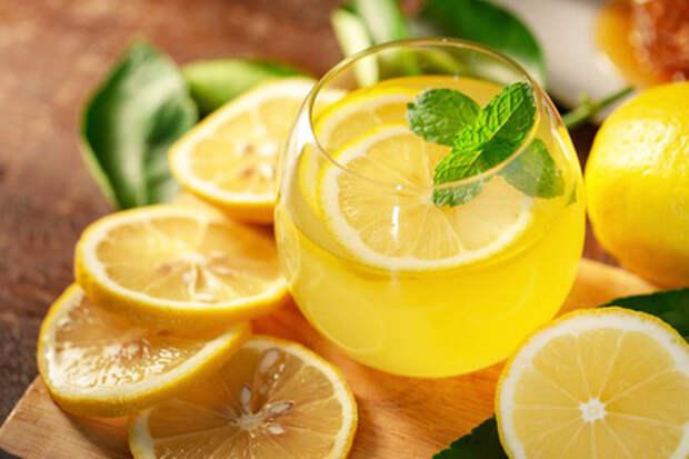 Фото к рецепту: Домашний лимонад