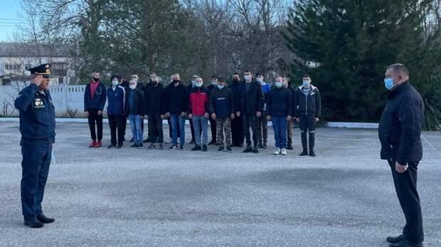 Состоялась торжественная отправка призывников в Вооружённые Силы Российской Федерации