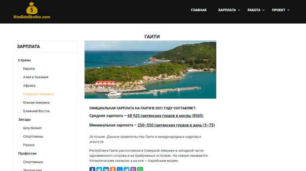 Скриншот страницы ktogdeskolko.com/gaiti