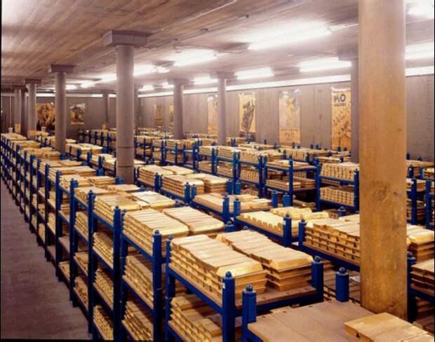 Куда исчезло наше золото? Крупнейшие банки США и Англии ведут себя как мошенники