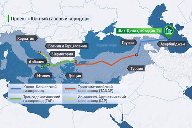 """Насмешка судьбы: Поставщиком газа в ЮГК может стать """"Газпром"""""""