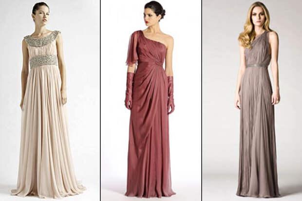 Шьем платье в греческом стиле. Изящно, шикарно, элементарно!