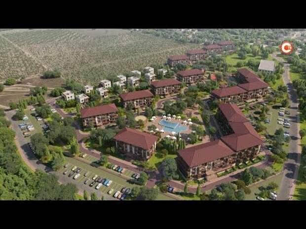 «Золотая балка» построит коттеджный поселок, детский сад и школу (СЮЖЕТ)