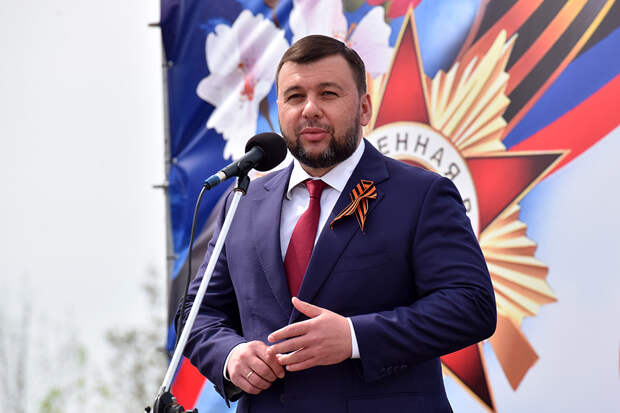 Глава ДНР ответил наслова Зеленского оДонбассе ирусских