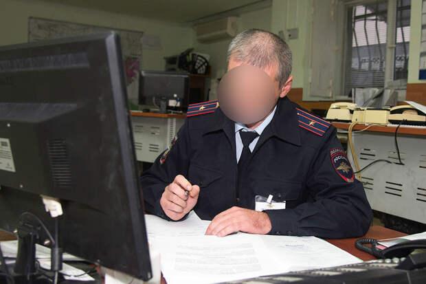 Полицейский из Северной Осетии оштрафовал умершего