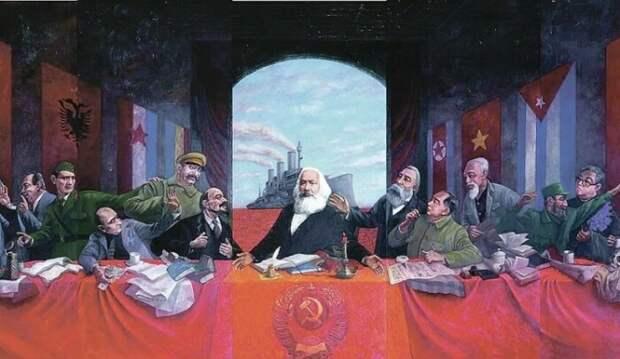 Как в СССР искали сходство между христианством и коммунизмом и придумали свою религию
