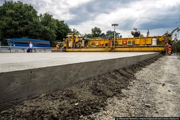 Почему у нас нет бетонных дорог. Хотя в США их - 65%,  в Китае – 63%.