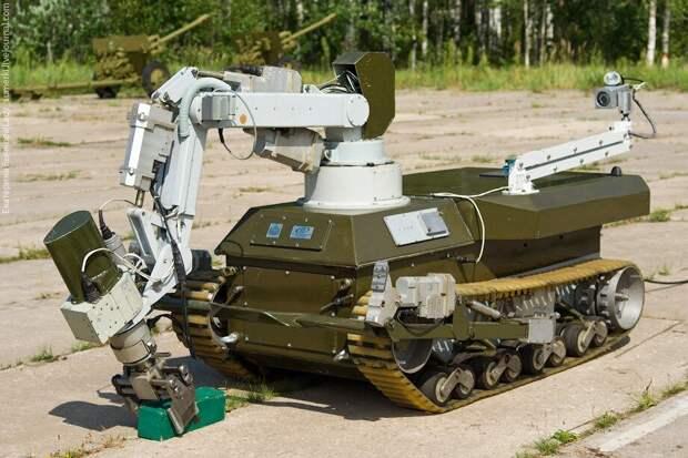 В России разрабатываются роботизированные комплексы с беспилотниками для войск РХБЗ