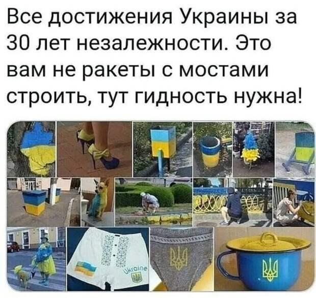 Все достижения независимой Украины за 30 лет