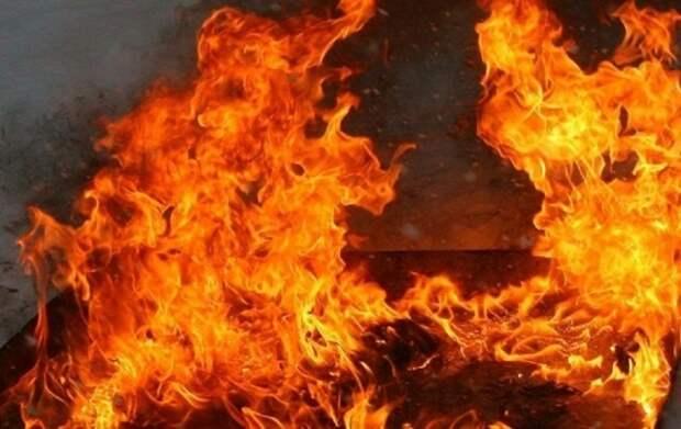 В н.п. Чистяково в горел многоквартирный жилой дом