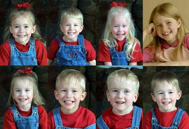 Чудо Господне. Рождение семерняшек и их судьба.