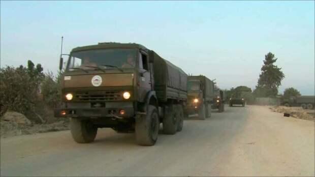Поддерживаемые Израилем боевики атаковали российских военных вДараа