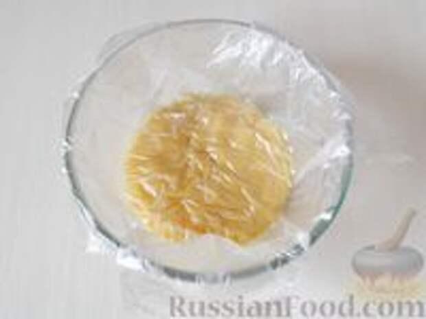 Фото приготовления рецепта: Медовик апельсиновый - шаг №10