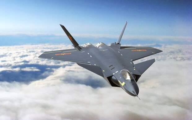 В Китае появилось видео истребителя J-20 с новыми двигателями WS-10C