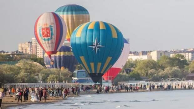 Фестиваль воздушных шаров открыл курортный сезон в Анапе
