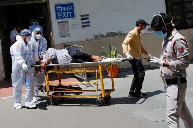 Россия направит крупную партию медицинской помощи в Индию