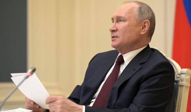 Путин: Иностранные компании, инвестирующие вчистые технологий, получат преференции