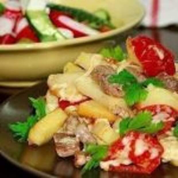 """Картофель """"по-французски"""" на сковородке"""