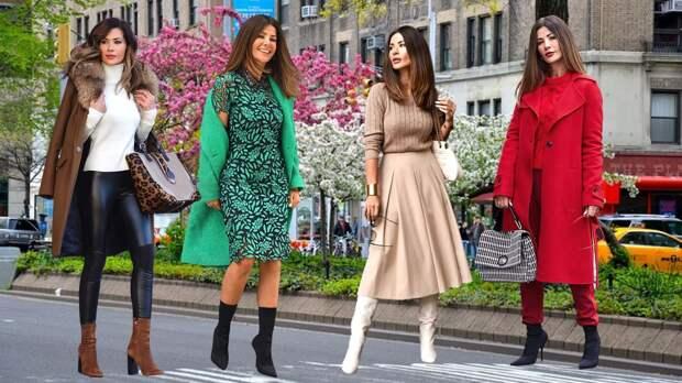 9 женственных и незабываемых образов на начало весны от немецкой модницы