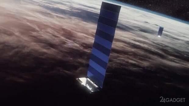 Интернет Starlink от SpaceX будет доступен в движении на самолетах, судах и грузовиках