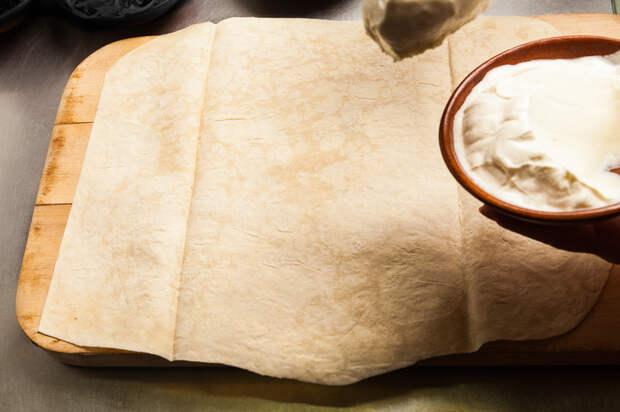 Из тонкого лаваша: 12 лучших рецептов