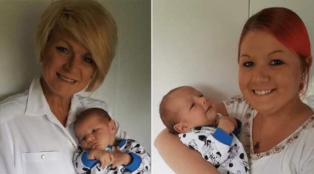46-летняя мама Элис Тереза Хохенхаус предложила себя дочери в качестве суррогатной матери  болезнь, жизнь, ребенок, суррогатное материнство
