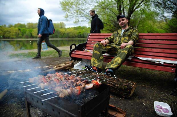 Россиянам объяснили, где можно жарить шашлыки
