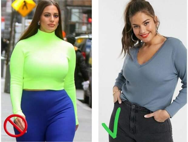 Как одеваться, если большой бюст: корректируем пропорции фигуры