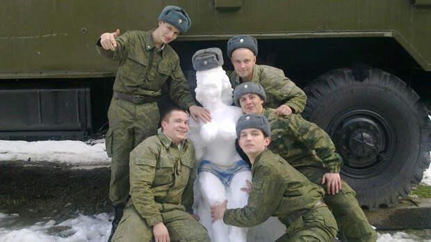 Армейский юмор....