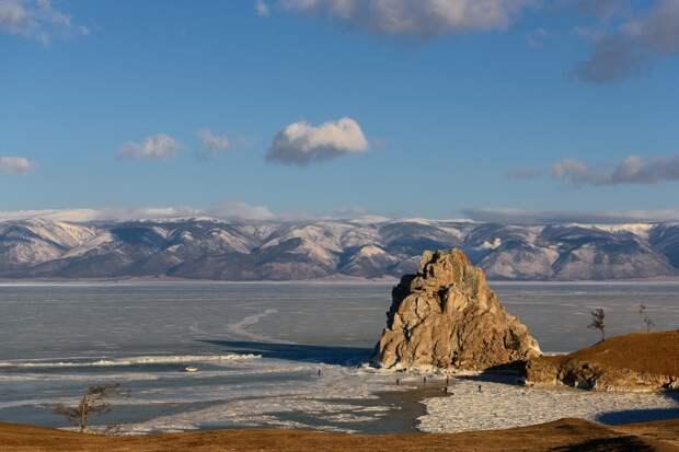 Другая планета-озеро Байкал