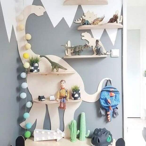 мебель в виде динозавров