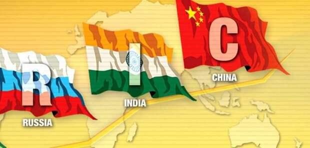 Треугольник — Россия, Китай, Индия — может оказать решающее воздействие на развитие мира будущего