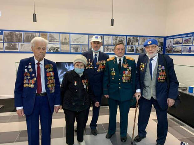 Ветераны вДень Победы посетили музей нижегородской энергетики