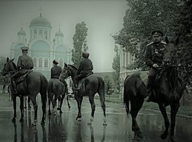 Казаки в 90-х . Взято в качестве иллюстрации из открытого источника Яндекс Картинки.