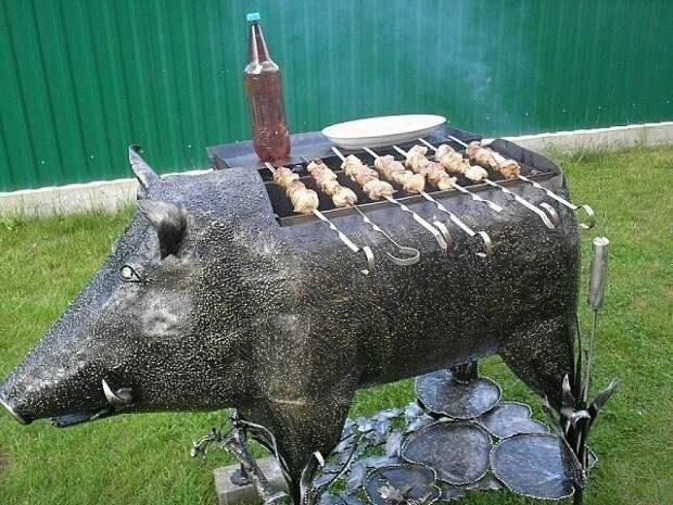 Свин мангал
